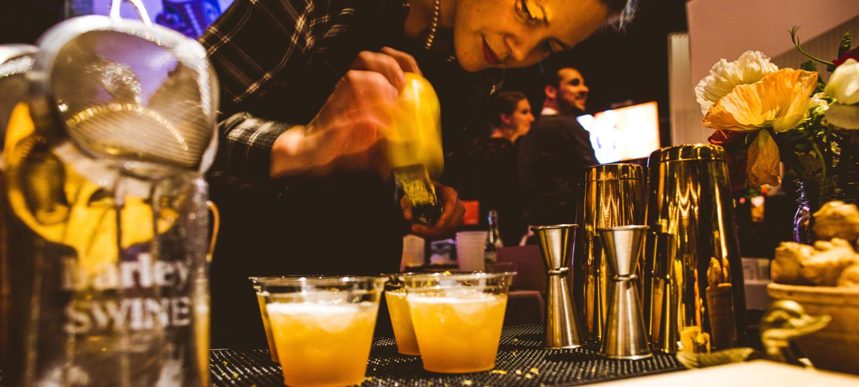 Bartender from Austin's Taste of the Nation's event.
