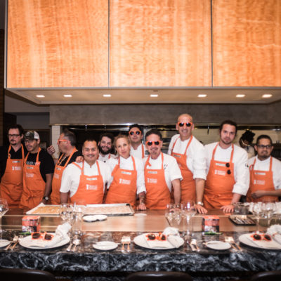 Group Photo of Dallas No Kid Hungry Dinner