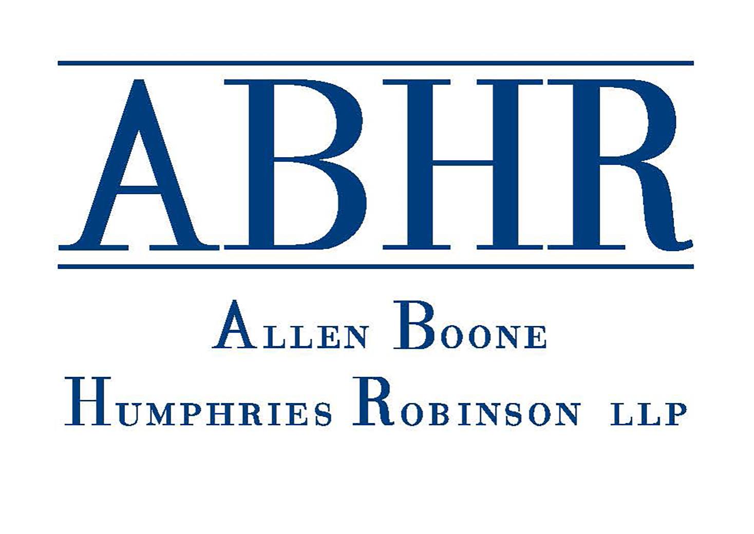 Allen Boone Humphries Robinson LLP