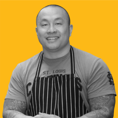 Chef Qui Tran's head shot